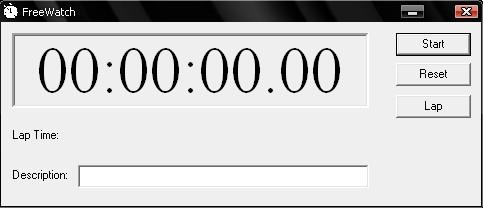 chronomètre virtuel windows 10