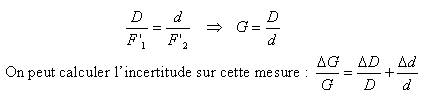 Relation des triangles